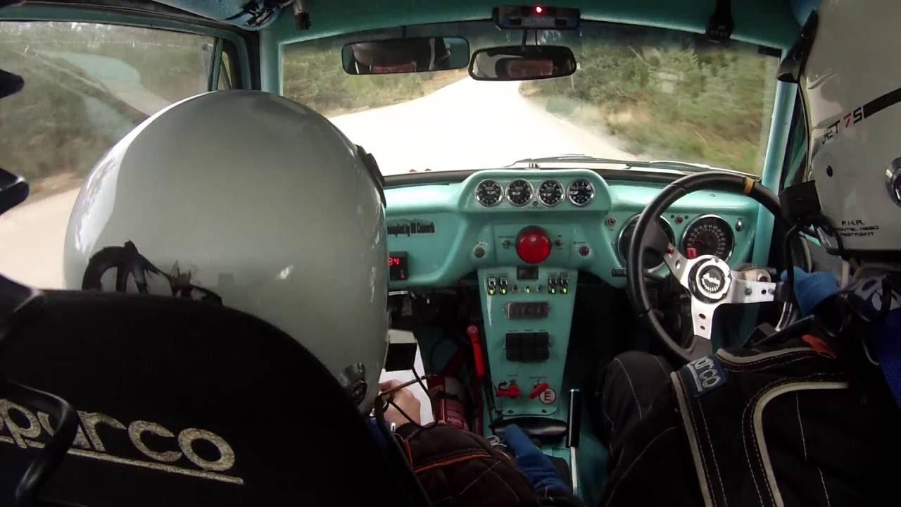 Anglia 4x4 rally car - YouTube