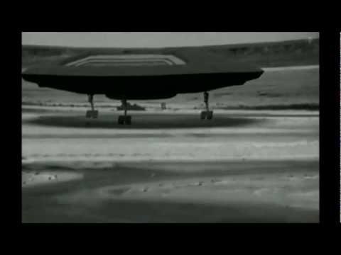 UFO TEST FLIGHT FOOTAGE IN MILITARY BASE - CGI (2012)