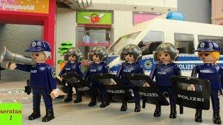 Die Motorradbande Playmobil Film Bundespolizei Einsatz Stop Motion seratus1