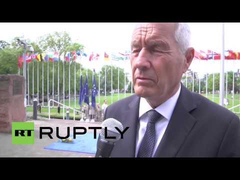 France: Secretary General of the Council of Europe praises Soviet role in WWII