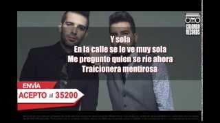 Sola - Alkilados (Video Karaoke)