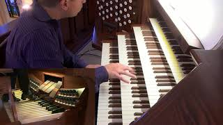Adam Brakel Un Poco Allegro from Trio Sonata 4 in E minor BWV 528 Johann Sebastian Bach