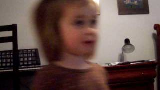 Singing a song from potty power