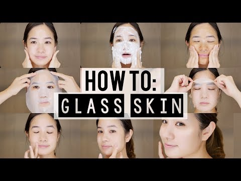 How to: KOREAN 10 Step Skincare Routine | Glass Skin