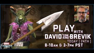Marvel Heroes 2015 with David Brevik as the Cow King - Part 1