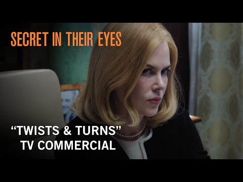 "Secret In Their Eyes | ""Twists & Turns"" TV Commercial 