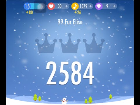 Piano Tiles 2 Fur Elise Beethoven High Score 2584 - Piano Tiles 2 Premium Song 99 Fur Elise Piano