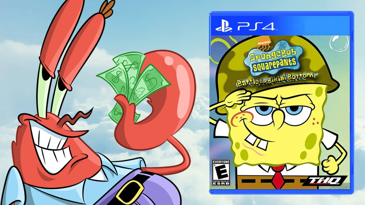 Activision Possibly Lost SpongeBob License, BfBB HD/Sequel Status, & THQNordic