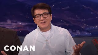 Jackie Chan On The First Time He Met Steven Spielberg  - CONAN on TBS