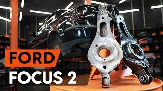 Como substituir a braço de suspensão traseiros no FORD FOCUS 2 (DA) [TUTORIAL AUTODOC]