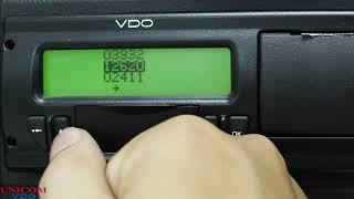 Tacógrafo Digital VDO (BVDR) - Vincular Motorista