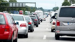 Staus auf den Autobahnen