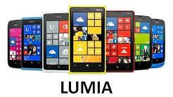 Evolution of Lumia Smartphones (2011 - 2016)