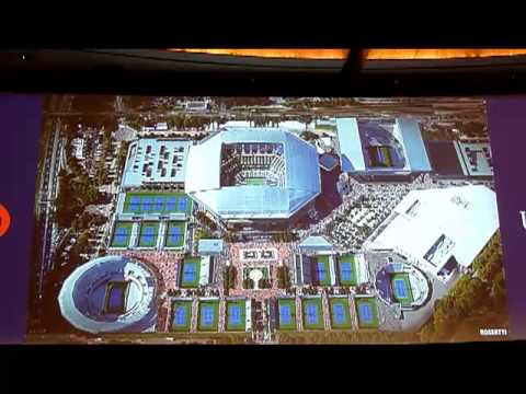 USTA National Tennis Center Transformation revealed 8-15-13