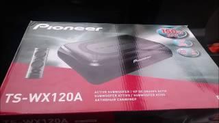 pioneer ts wx120a subwoofer test kaufberatung einbau erklrung test fazit pandadriv3r