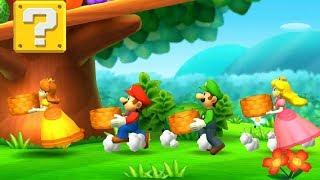 Princess Daisy Vs Princess Peach Vs Mario Vs Luigi - MiniGames - Mario Party: The Top 100