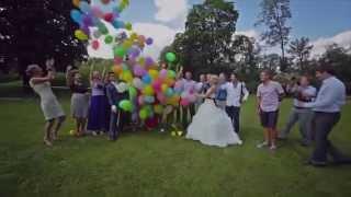 Запуск воздушных шаров на свадьбе Дари Шары Иваново