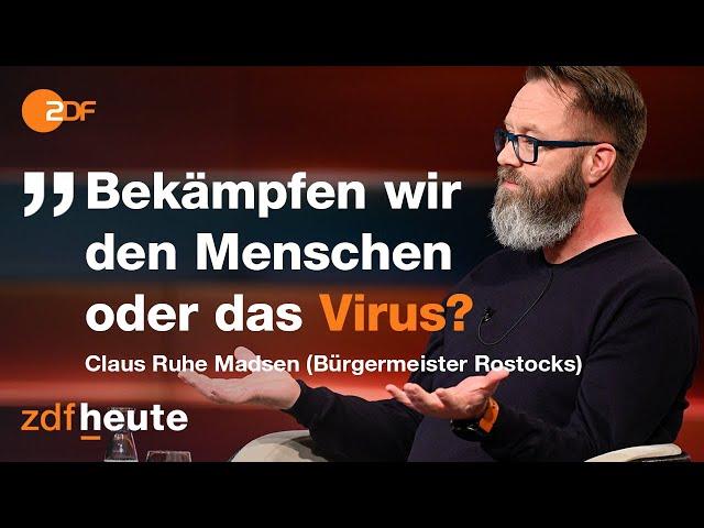 Claus Ruhe Madsen über seinen Weg in der Corona-Pandemie | Markus Lanz vom 03. Februar 2021