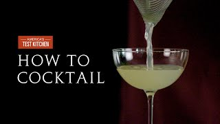 How to Cocktail: Celery Gimlet
