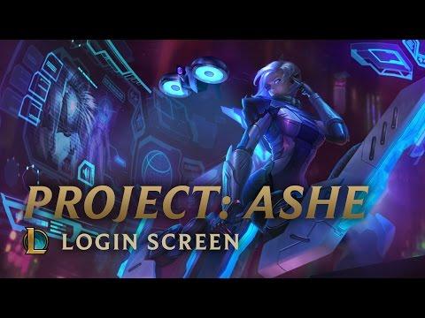 PROJECT: Ashe | Login Screen - League of Legends