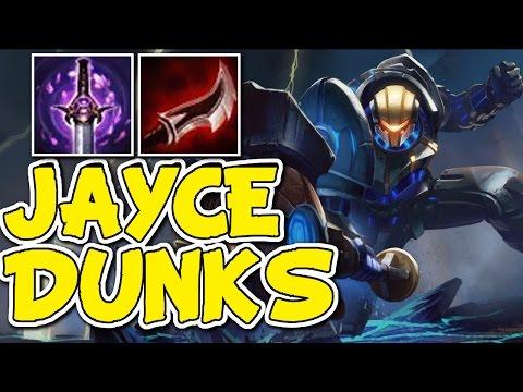 YOUMUUS DUSKBLADE JAYCE TOP DUNKS - Unranked to Diamond Episode #80
