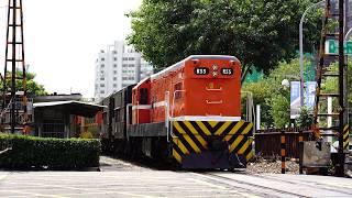 2018.09.28 貨物列車7220次通過建國路平交道