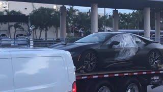 Rapper XXXTentacion's car is taken away by police by : Miami Herald