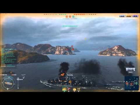 Lets Play World of Warships EP:2 Action Stations!