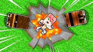 IL BAMBINO POVERO È CADUTO IN UN BUCO! - Scuola di Minecraft #32