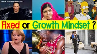 Identify: Growth Or Fixed Mindset?