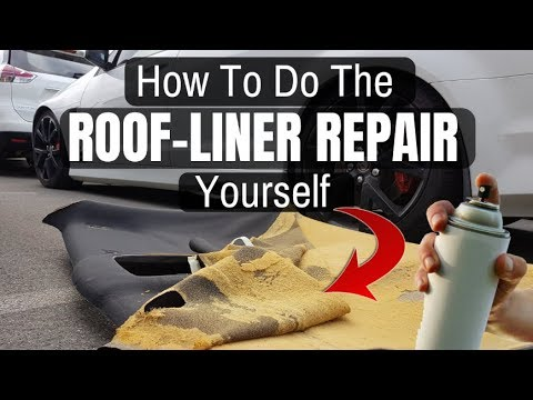 How to Fix Your Sagging Headliner in Any Vehicle