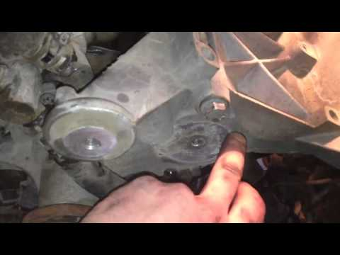 3 0L Ford Timing Cover Gasket How To