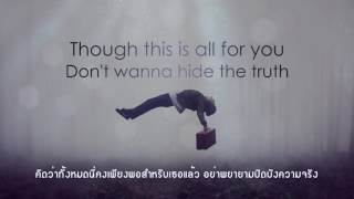 Demons - Imagine Dragons (Lyrics) แปลไทย