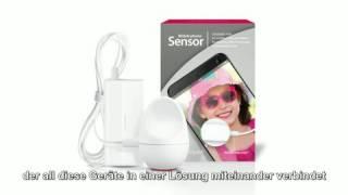 Produktvideo zu Lichtsensor für Handy & Tablet Bellman Visit 868 Mobile Phone Sensor