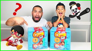 RYAN'S WORLD SUPER SURPRISE SAFE WHAT'S in the BOX CHALLENGE!