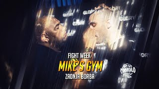 Fightweek- Amsterdam Mike Gym- Trening- Antonio Plazibat Zadnja Borba