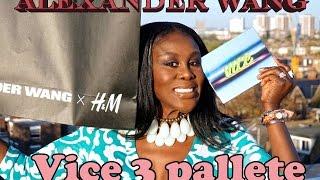 HAUL  PART 1 - ALEXANDER WANG X H&M, VICE3 PALETTE & MORE! Thumbnail