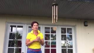 Chris Brazel teaches you about the energy of wind chimes