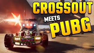 NotMyCar - CROSSOUT MEETS FORTNITE & PUBG! Vehicle Battle Royale! (Not My Car Gameplay)