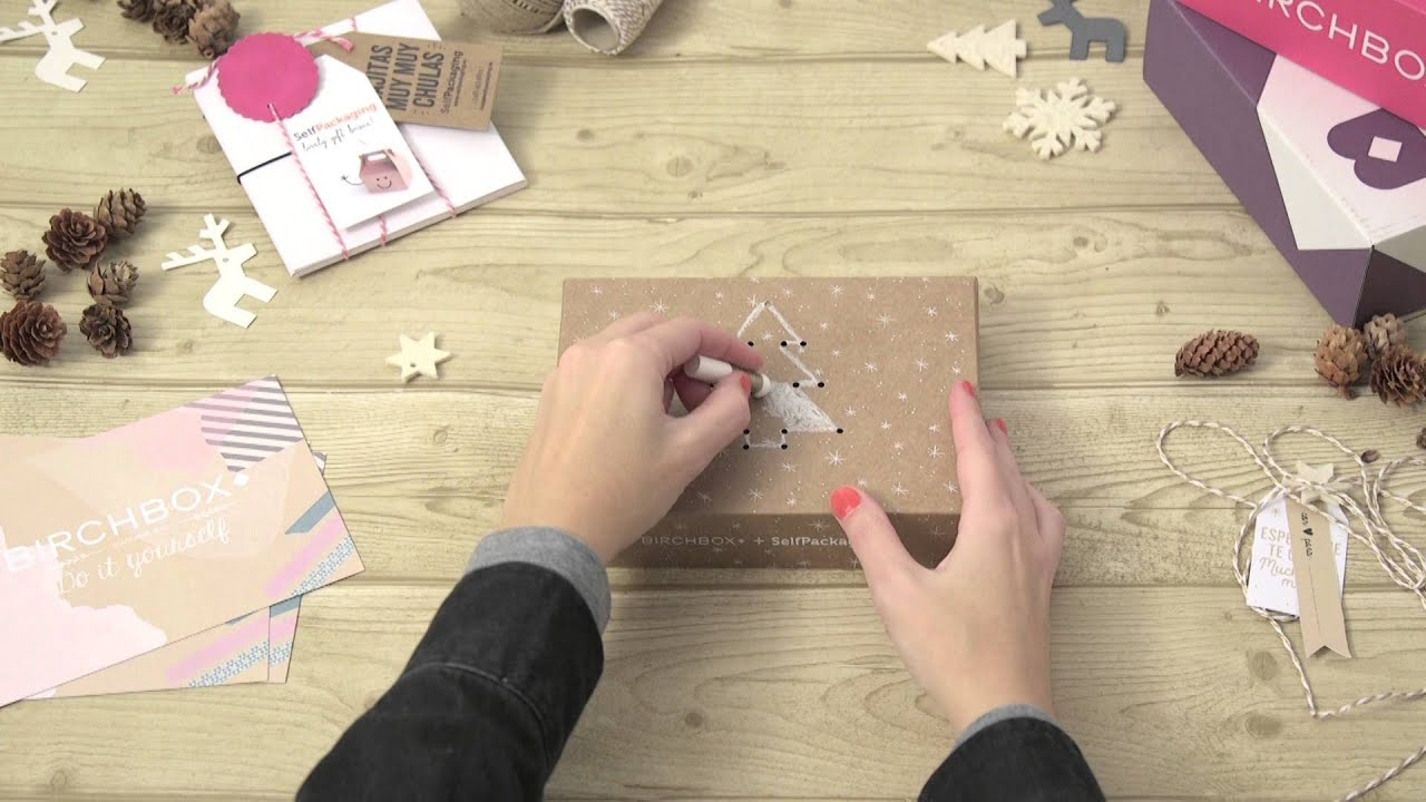 Ideas Para Decorar Cajas De Cartón Selfpackaging Birchbox