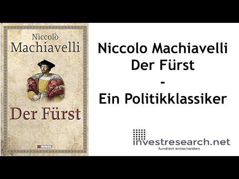 Der Fürst YouTube Hörbuch Trailer auf Deutsch