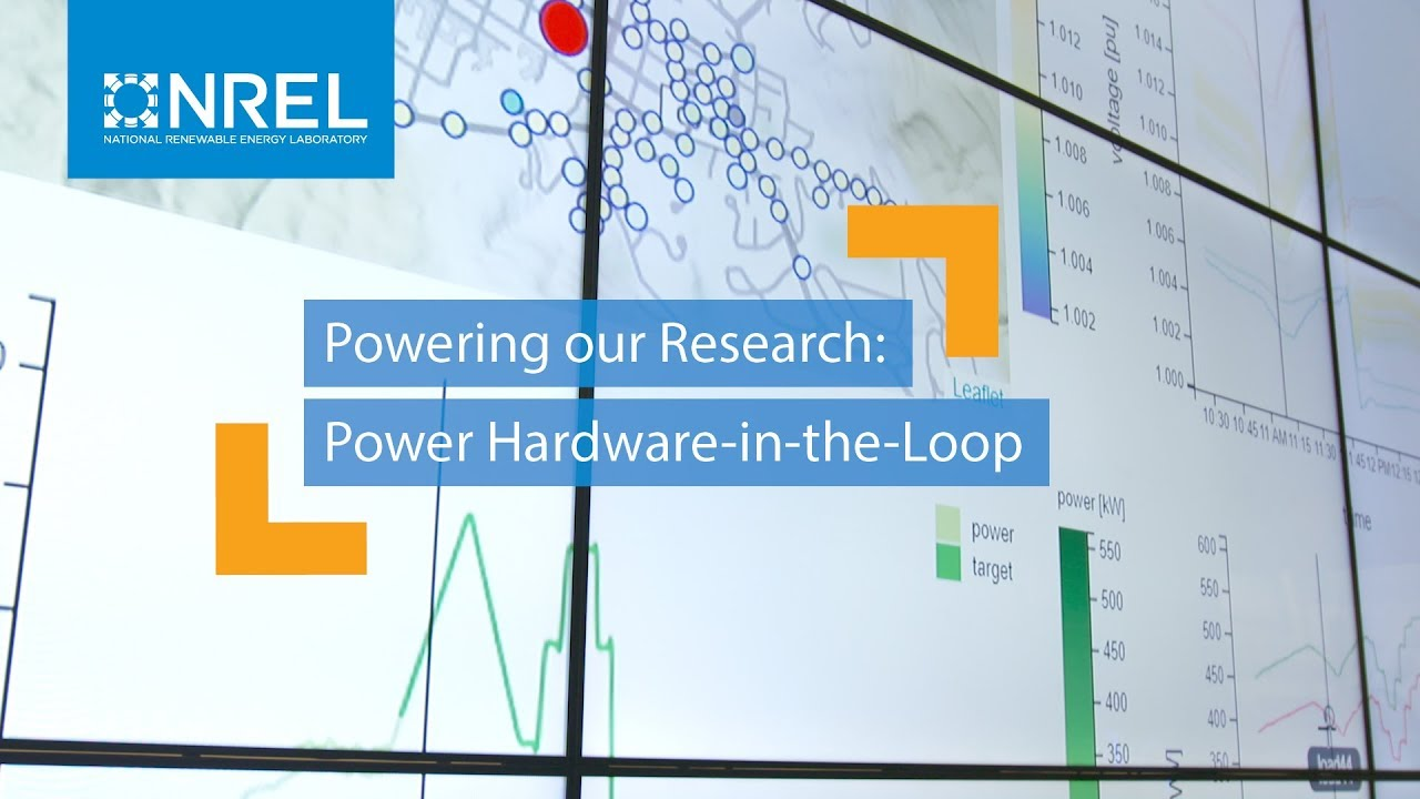 hight resolution of powering our research power hardware in the loop