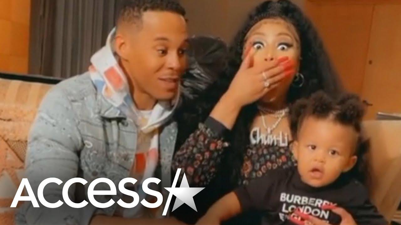 Nicki Minaj Shares Rare Videos Of Son