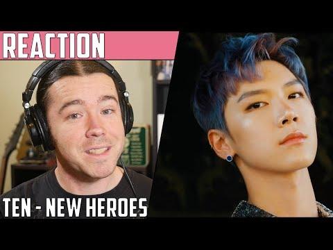 Ten(텐) - New Heroes MV Reaction