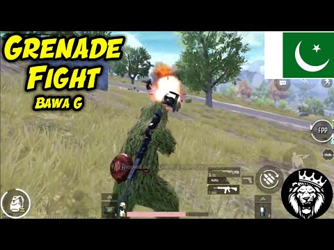 Grenade Fight In PUBG MOBILE / Star ANONYMOUS