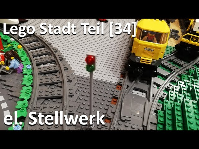 Lego Stadt Teil [34] - Wie baut man ein elektrisches Stellwerk?