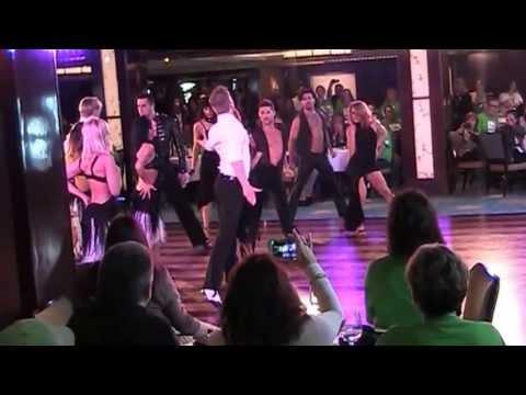 How To Make A Dance Floor >> Burn the Floor on the Norwegian Breakaway - YouTube