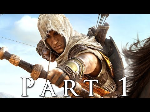 ASSASSIN'S CREED ORIGINS Walkthrough Gameplay Part 1 - Oracle (AC Origins)