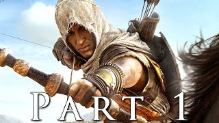 ASSASSINS CREED ORIGINS Walkthrough Gameplay Part 1 - Oracle AC Origins