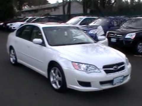 2009 Subaru Legacy Special Edition 2.5i AWD PK5717 - YouTube